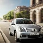 Аренда автомобиля Nissan Almera на газу, Екатеринбург