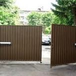 Распашные ворота под ключ с автоматикой и без, Екатеринбург