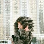 Шуба из чернобурой лисы (уникальная модель), Екатеринбург