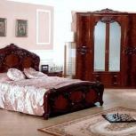 Модульная спальня Ольга могано Комплект с 4-х дверным шкафом (Авт), Екатеринбург