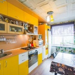 Кухонный гарнитур д3.65, в2.40, г60см, с подсветкой.в отл состоянии., Екатеринбург