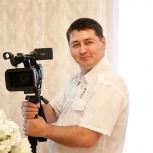 Свадебная видеосъёмка,  детские утренники, фильмы на любую тему, Екатеринбург
