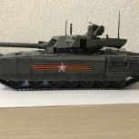 """Модель в масштабе 1:35 танк Т-14 """"Армата"""", Екатеринбург"""