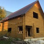 Готовый дом из оцилиндрованного бревна, Екатеринбург