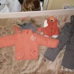 Продам детский зимний комбинезон, с жилеткой из натуральной овчины, Екатеринбург