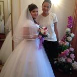 Свадебное платье+кринолин+фата+чехол, Екатеринбург