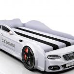 Кровать-машина Real А7 белая, Екатеринбург