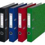Папки-регистраторы разных цветов и размеров. Много, Екатеринбург