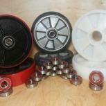 Продажа рулевых колес и роликов для гидравлической тележки (рохли), Екатеринбург