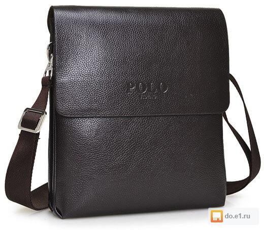 Стильная мужская сумка POLO + часы Curren в подарок Цена - 2490.00 ... f21980ac5fdec
