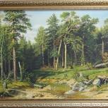 Картина сосновый бор. Мачтовый лес в Вятской губернии, Екатеринбург