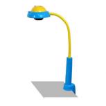 Лампа-трафарет синий (Д), Екатеринбург