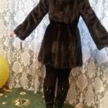 Норковая шуба с капюшоном, Екатеринбург