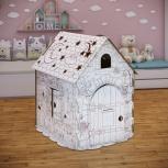 Картонный игровой домик раскраска «Беби-Арт», Екатеринбург