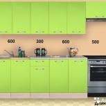 Новая Кухня, модель Фиджи-Лайм-1 длина 2000мм, Екатеринбург