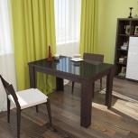 Стол обеденный раздвижной со стеклом Бостон (УМ), Екатеринбург