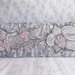 Интерьерные картины с цветами ручной работы, Екатеринбург