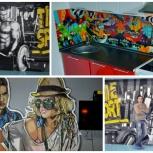 Роспись стен. Граффити, Художественное оформление, Екатеринбург