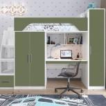 Кровать-чердак Тея винтерберг-олива, Екатеринбург