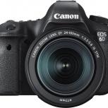 Полнокадровый фотоаппарат Canon EOS 6d, Екатеринбург