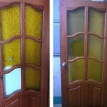 Замена стекла в межкомнатных дверях, Екатеринбург