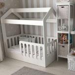Детская кровать-домик белый, Екатеринбург