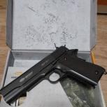 Пистолет пневматический Glatcher Colt 1911, Екатеринбург