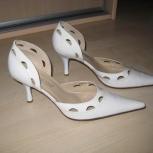 Туфли белые кожаные, Екатеринбург