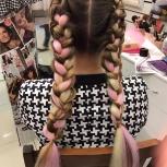 Плетение кос с канекалоном (брейдов), Екатеринбург