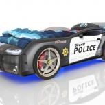 Кровать-машина Kiddy Полиция, Екатеринбург