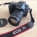 Фотоаппарат Canon EOS 7D+Canon EF-S 18-135mm f/3.5-5.6 IS STM, Екатеринбург