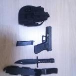 Страйкбольный пистолет WE Glock18C, Екатеринбург