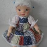 Текстильная игровая кукла «Девочка блондинка», Екатеринбург