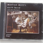 Manfred Mann's Earth Band - Criminal Tango 1986 / UK / CD, Екатеринбург
