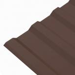 Профнастил МП-20 (RAL 8017) шоколад 1150x2000x0.45, Екатеринбург