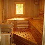 Отделка бань, саун, деревянных домов, балконов, Екатеринбург