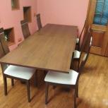 Обеденный стол и стулья, Екатеринбург