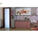 Кухня с фотопечатью 2,0 м Цветы (Альбина), Екатеринбург