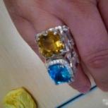 Мужское кольцо с цитрином, Екатеринбург
