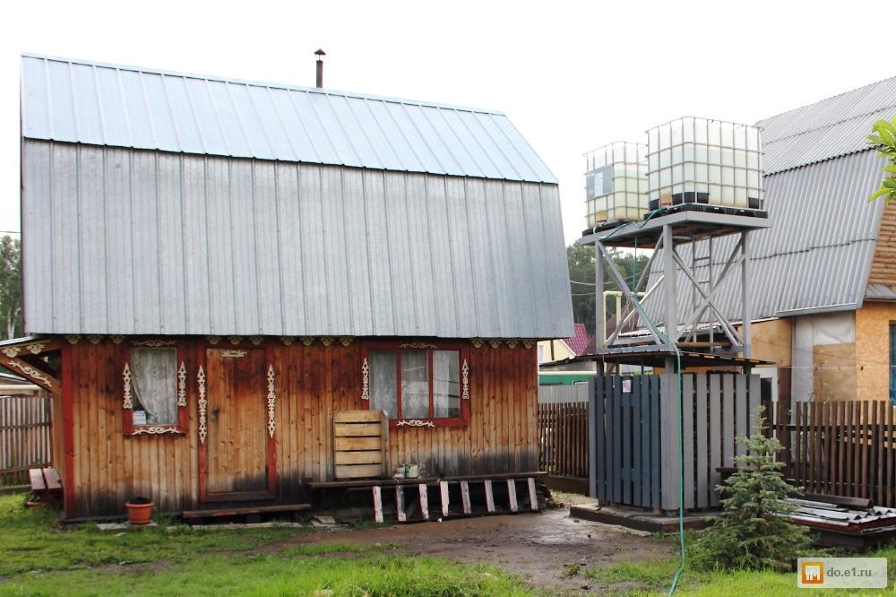 Водонапорная башня на даче