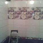 Укладка керамогранита,кафель на стены, декоративный камень,сантехника, Екатеринбург