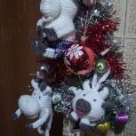 Бычок новогодний на елку, Екатеринбург