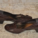 Женские туфли кожаные коричневые, Екатеринбург