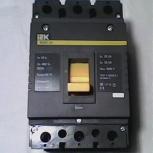 выключатель автоматический- IEK(ВА 88-35) In250А, Екатеринбург