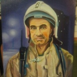 Портрет маслом на холсте, Екатеринбург