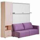 Кровать-трансформер с диваном и шкафом Смарт (Нв), Екатеринбург