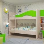 Двухъярусная кровать Мая Лайм (Тмк), Екатеринбург