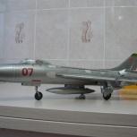 Продам модель-копию самолета Су-7б из бумаги, Екатеринбург
