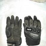 Перчатки agvsport Jet кожаные цвет черный, Екатеринбург
