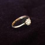 Кольцо с бриллиантами новое, Екатеринбург